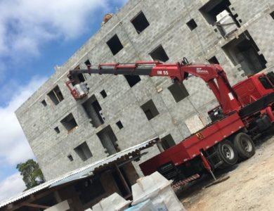 Içamento de blocos de concreto