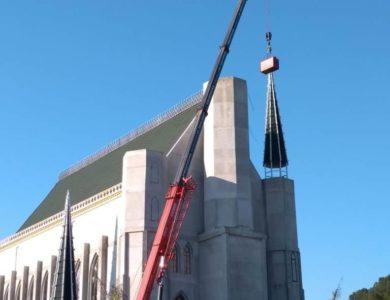 Içamento de cúpula de igreja
