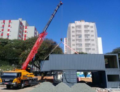 Projeto escola container