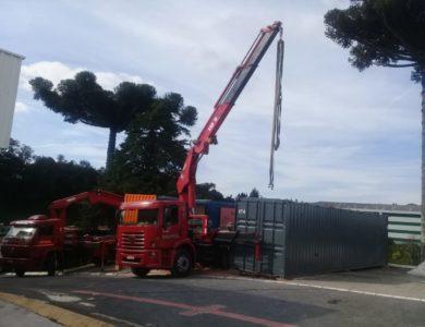 Descarregamento de Container